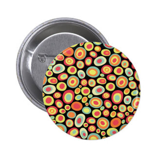 Abstract 220213 6 cm round badge