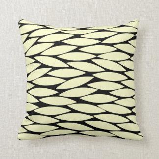Abstract 250713 - Cream on Black Cushions