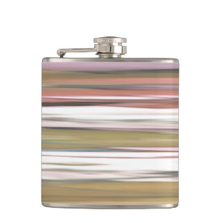 Abstract #2: Autumn Fall colors blur Hip Flask