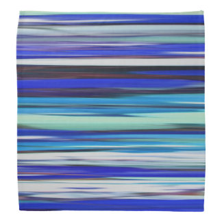 Abstract #2: Blue blur Bandana