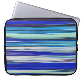 Abstract #2: Blue blur Laptop Sleeve