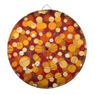 Abstract #2 dartboard with darts