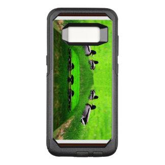 Abstract 2 ducks Samsung Galaxy S8 case