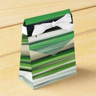 Abstract #2: Green blur Favour Box