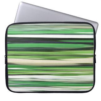 Abstract #2: Green blur Laptop Sleeve