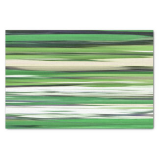 Abstract #2: Green blur Tissue Paper