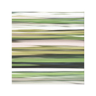 Abstract #2: Olive green blur Canvas Print