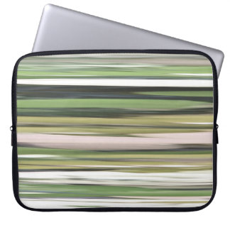 Abstract #2: Olive green blur Laptop Sleeve