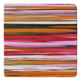 Abstract #2: Orange blur Trivet