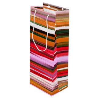 Abstract #2: Orange blur Wine Gift Bag