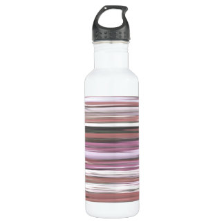 Abstract #2: Pink blur 710 Ml Water Bottle