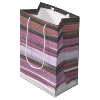 Abstract #2: Pink blur Medium Gift Bag