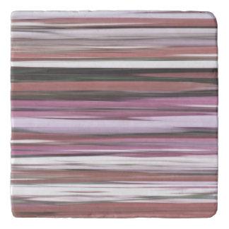 Abstract #2: Pink blur Trivet