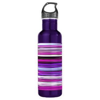 Abstract #2: Purple Blur 710 Ml Water Bottle