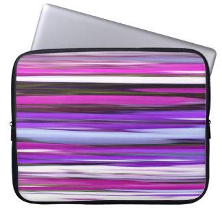 Abstract #2: Purple Blur Laptop Sleeve
