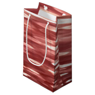 Abstract #2: Red blur Small Gift Bag
