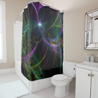 abstract 2 shower curtain