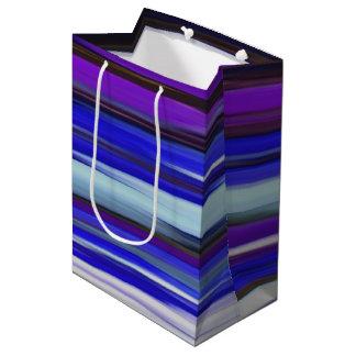 Abstract #2: Ultraviolet blur Medium Gift Bag