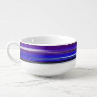 Abstract #2: Ultraviolet blur Soup Mug