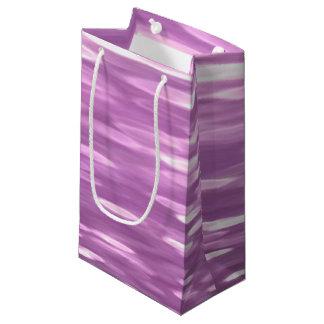 Abstract #3: Lilac Shimmer Small Gift Bag