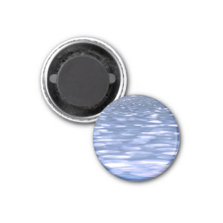 Abstract #3: Powder blue shimmer Magnet