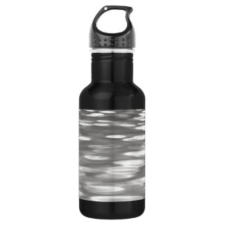 Abstract #3: Silver grey shimmer 532 Ml Water Bottle
