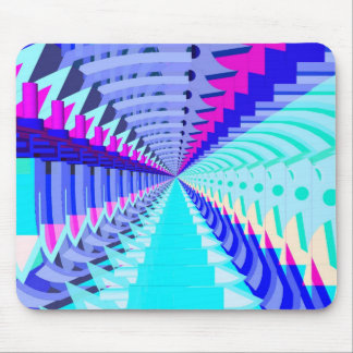 Abstract 3D Shapes: Mouse Pad