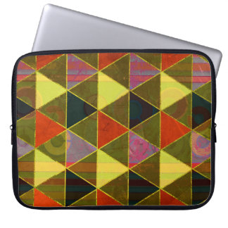 Abstract #474 laptop sleeve