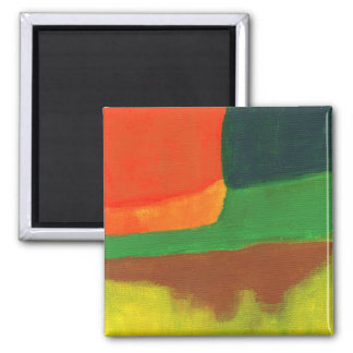 Abstract #4 square magnet