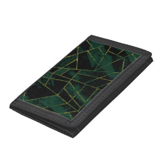 Abstract #500 tri-fold wallet