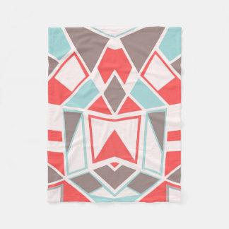 Abstract #582 fleece blanket