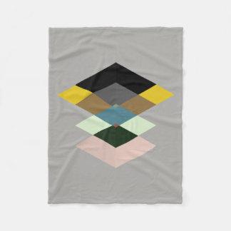 Abstract #709 fleece blanket