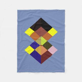 Abstract #719 fleece blanket