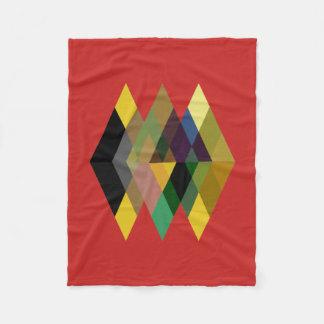 Abstract #726 fleece blanket