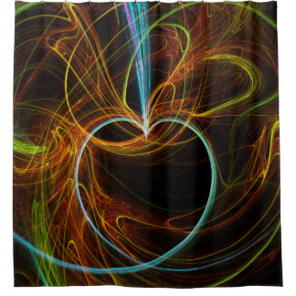 abstract 73 shower curtain