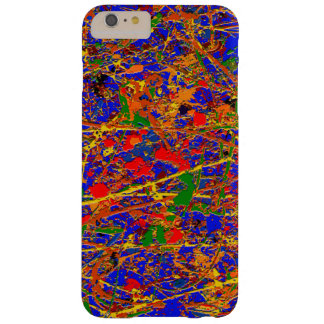 Abstract #741 barely there iPhone 6 plus case