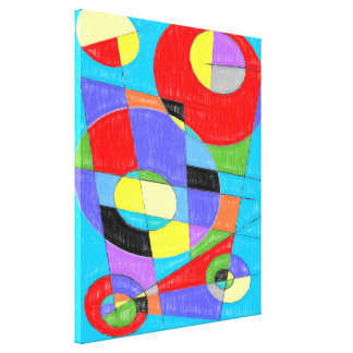 Abstract #750 canvas print