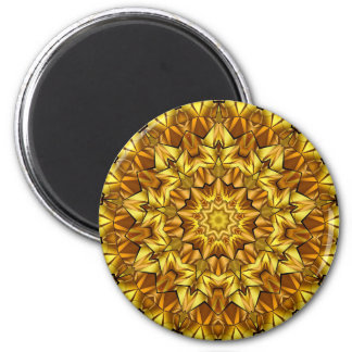 abstract #75 6 cm round magnet