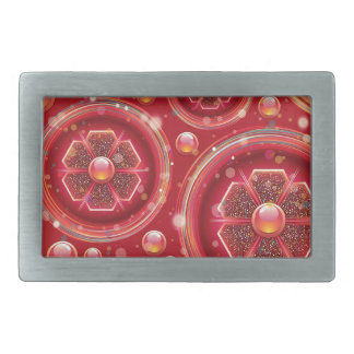 abstract #8 belt buckles