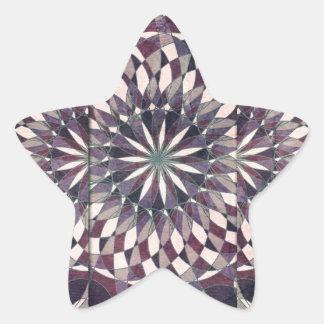 Abstract 8 star sticker