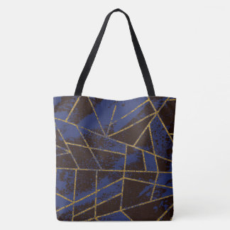 Abstract #941 Blue Tote Bag