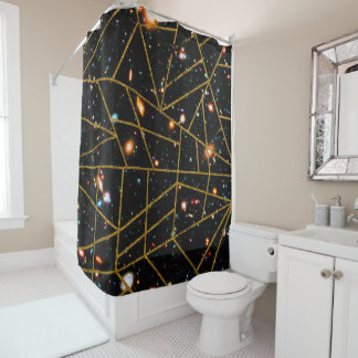Abstract #950 shower curtain