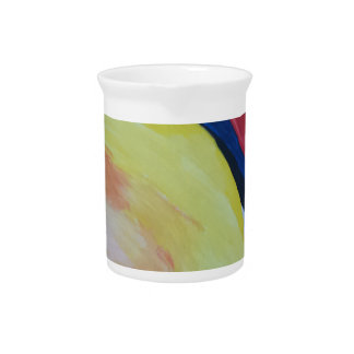 Abstract Acrylic Design 1 Pitcher