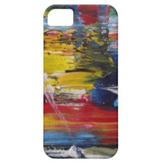 Abstract Acrylic Pattern 1 Barely There iPhone 5 Case
