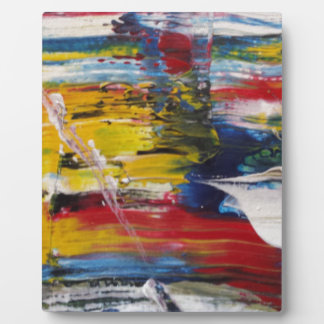 Abstract Acrylic Pattern 1 Plaque