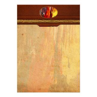 Abstract - Acrylic - Rising power.jpg Custom Invitations