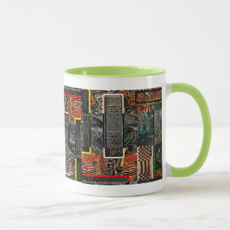 Abstract African Jungle Mug