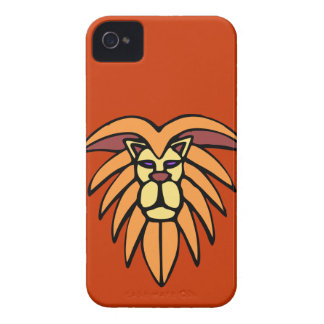 Abstract African Lion Head Blackberry Bold Case