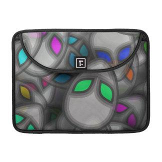 Abstract aliens MacBook Pro Sleeve
