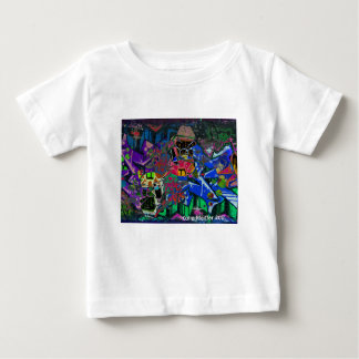 Abstract Altered Graffiti Baby T-Shirt